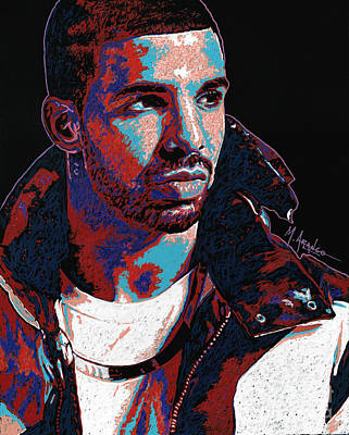 Painting - Drake by Maria Arango