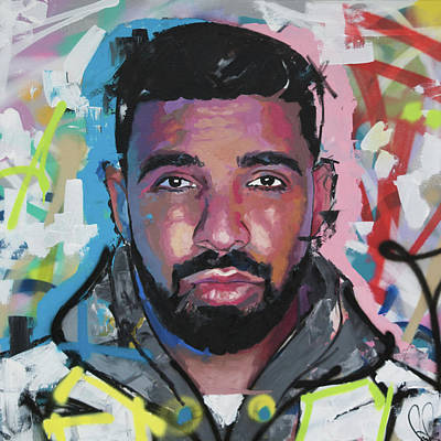 Painting - Drake by Richard Day