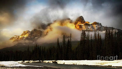 Photograph - Drama Of The Canadian Rockies 2 by Bob Christopher