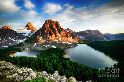 Photograph - Drama Of The Canadian Rockies 3 by Bob Christopher