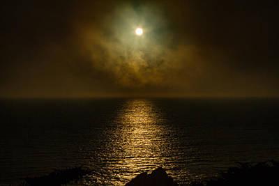 Photograph - Drama Of The Setting Sun by Bonnie Follett