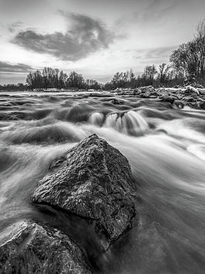 Photograph - Drama On Drava by Davorin Mance
