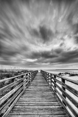 Photograph - Drama Over Orange Beach by JC Findley