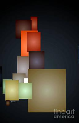 Digital Art - Dramatic Abstract by Rafael Salazar