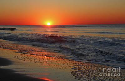 Photograph - Dramatic Atlantic Ocean Sunrise by Kevin McCarthy