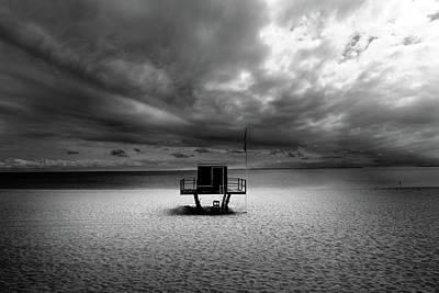 Photograph - Dramatic Beach by Marc Huebner