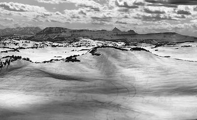 Photograph - Dramatic Black And White Beartooth Pass by Dan Sproul