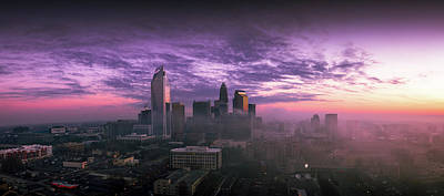 Photograph - Dramatic Charlotte Sunrise by Serge Skiba