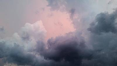 Photograph - Dramatic Clouds  by Ally White