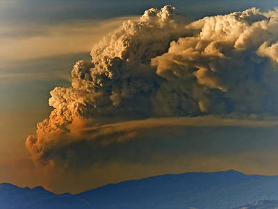Mammatus Photograph - Dramatic Clouds by Naman Imagery