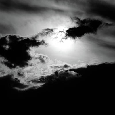 Dramatic Clouds Art Print