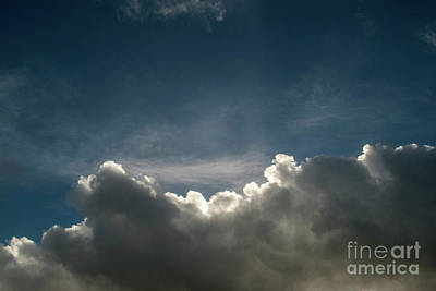 Photograph - Dramatic Cloudy Sky by Clayton Bastiani