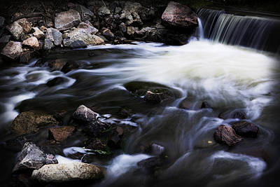Photograph - Dramatic Coal Creek by Marilyn Hunt
