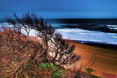 Photograph - Dramatic Coast 01 by Dora Hathazi Mendes