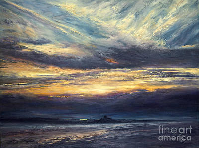 Painting - Dramatic End by Valerie Travers