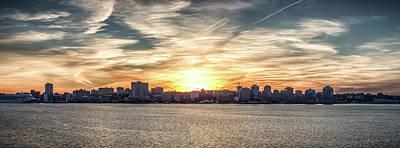Photograph - Dramatic Halifax Skyline by Trevor Kennedy