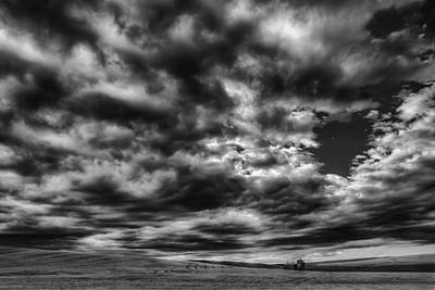 Photograph - Dramatic Palouse Sky by Chris McKenna