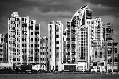 Photograph - Dramatic Panama City by Joann Long