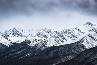 Photograph - Dramatic Rockies by Martin Capek