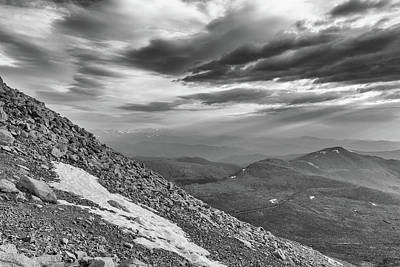 Photograph - Dramatic Skies From Mount Evans by Tony Hake