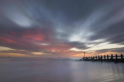 Photograph - Dramatic Skies Over Aberdeen Beach by Veli Bariskan