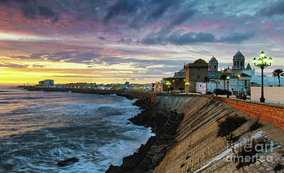 Photograph - Dramatic Skies Over The Southern Field Cadiz Spain by Pablo Avanzini