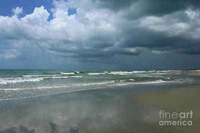 Photograph - Dramatic Sky Over Litchfield Beach by Christiane Schulze Art And Photography