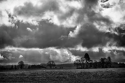 Photograph - Dramatic Spring Skies by Steven Clark