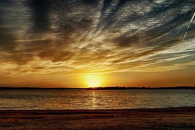Photograph - Dramatic Sunset by Doug Long