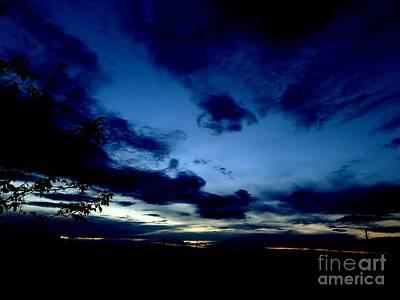 Photograph - Dramatic Sunset by Erika H