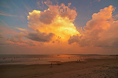 Photograph - Dramatic Sunset Over The Lynn Waterfront Lynn Ma by Toby McGuire