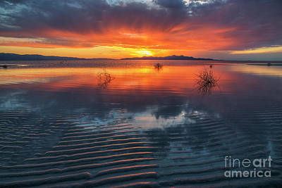 Photograph - Dramatic Sunset by Spencer Baugh