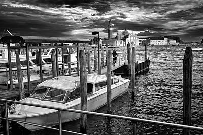 Photograph - Dramatic Venetian View by Eduardo Jose Accorinti