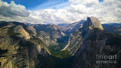Photograph - Dramatic Yosemite Half Dome by Debra Thompson