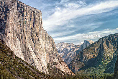 Photograph - Dramatic Yosemite Valley by John M Bailey