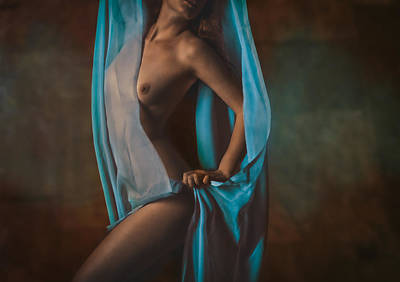 Vintage Erotic Photograph - Draped by Naman Imagery