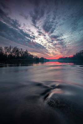 Photograph - Drava by Davorin Mance