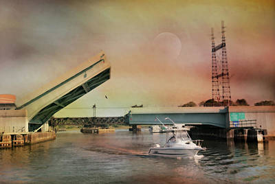 Connecticut Landscape Photograph - Draw Bridge by Diana Angstadt