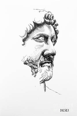 Drawing - Drawing by Alessandro Nesci