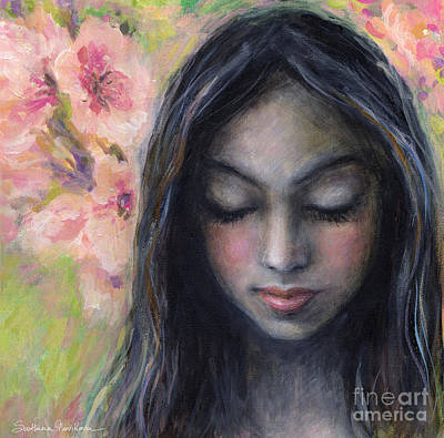 Drawing Near Art Print by Svetlana Novikova