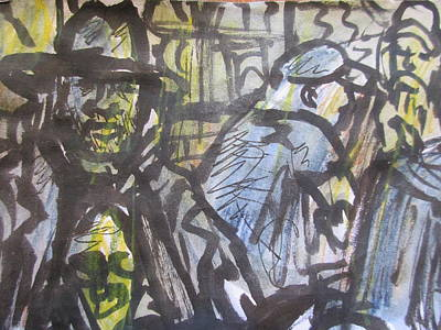 Index Mixed Media - Drawing Of David Lovins By Jon Solo by David Lovins