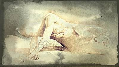 Erotic Male Drawing - Drawing_digital 1 by Darwin Leon