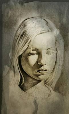 Drawing_digital 4 Art Print by Darwin Leon