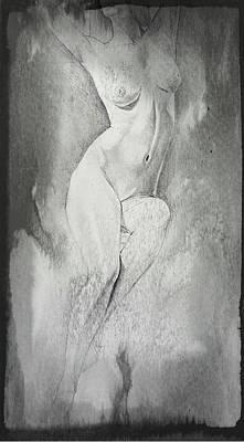 Erotic Male Drawing - Drawing_digital 6 by Darwin Leon