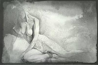 Erotic Male Drawing - Drawing_digital 7 by Darwin Leon