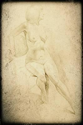 Erotic Male Drawing - Drawing_digital 9 by Darwin Leon