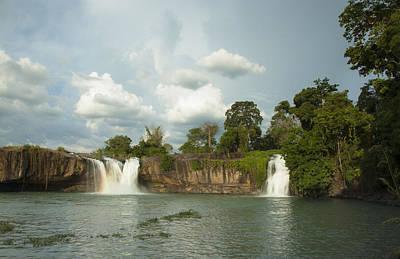 Dray Plants Photograph - Dray Sap Waterfall by Nguyen Truc