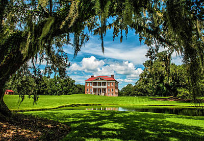 Photograph - Drayton Hall by Cathie Crow