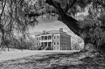 Photograph - Drayton Hall Framed by Cathie Crow