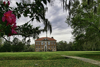 Photograph - Drayton Hall II by Gazie Nagle